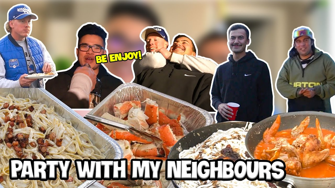 Download My NEIGHBOURS CAME BY FOR DINNER