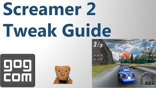 Screamer 2 GOG.com Review Tweak Guide 60 fps