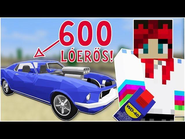 ÖSSZESZERELTEM ÁLMAIM AUTÓJÁT! - Minecraft Cars Mod Bemutató