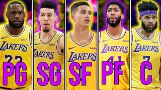 Ranking the Top 10 Starting 5's in the NBA Today