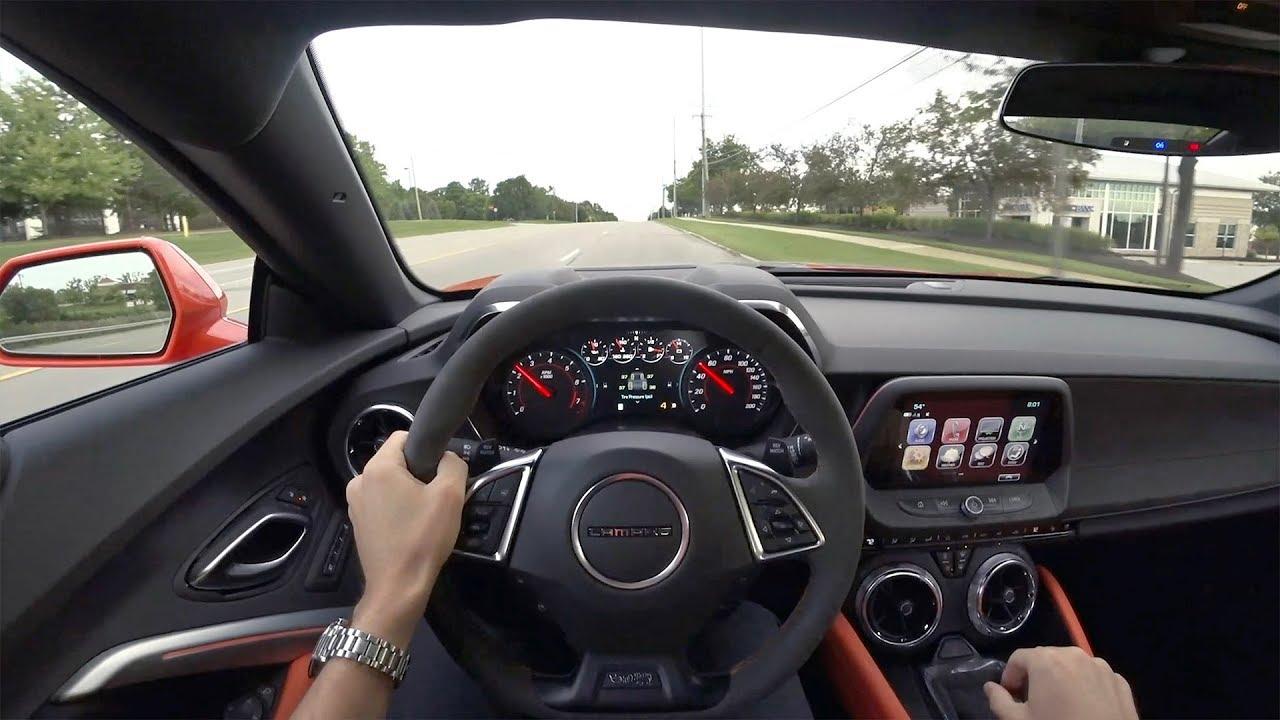 2018 Chevrolet Camaro 2SS 6MT Hot Wheels 50th Anniversary - POV Test Drive (Binaural Audio)