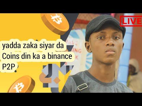 Yadda zaka siyar da Coins din ka a binance P2P