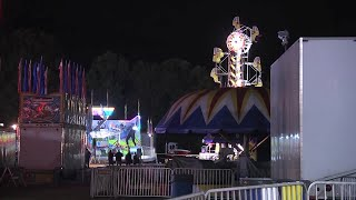 RAW VIDEO: Scene of fair where girl died after being thrown from ride
