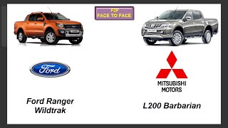 Mitsubishi L200 Barbarian Vs Ford Ranger Wildtrak