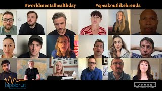 World Mental Health Day - #speakoutlikebrenda