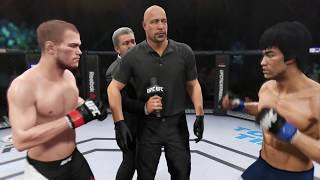 Michael McDonald vs. Bruce Lee (EA Sports UFC 2) - CPU vs. CPU
