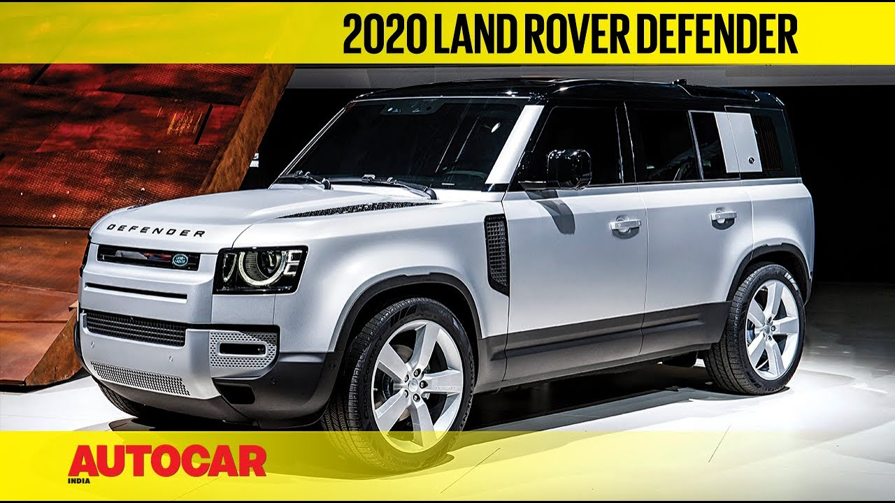 2020 Land Rover Defender First Look Frankfurt Motor Show 2019 Autocar India Youtube