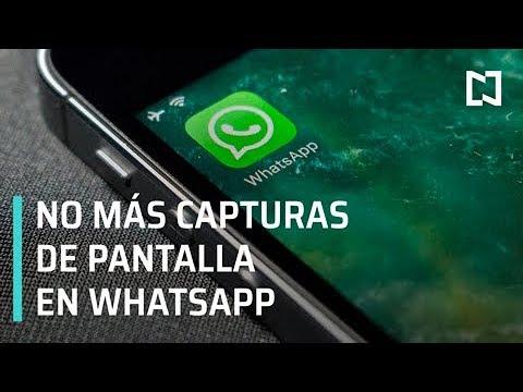 Whatsapp no sacará capturas de pantalla - Despierta con Loret