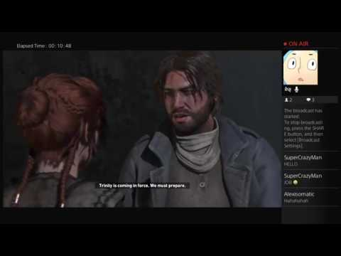 Rise of the Tomb Raider PS4 Live Stream  (SLOW INTERNET CONNECTION)
