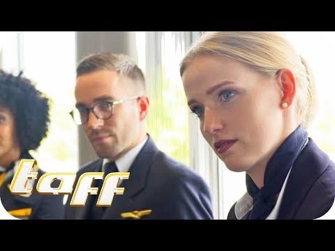 TRAUMJOB oder ALBTRAUM (1/2): Wie HART ist der Job als Stewardess? | taff | ProSieben