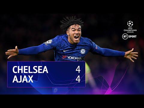 Chelsea vs Ajax (4-4) | UEFA Champions League Highlights