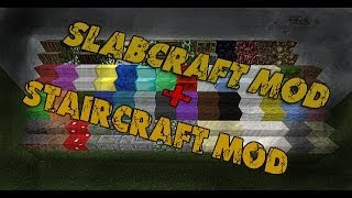 Обзор модов Minecraft #4- Чисто по Декору [Staircraft-Slabcraft]