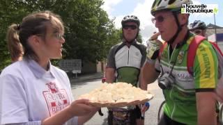 VIDEO. La belle ballade des cyclotouristes