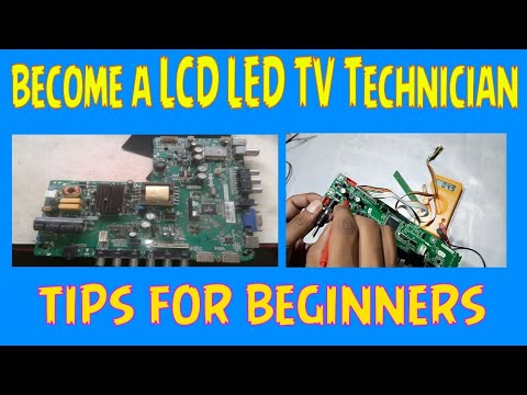 How To Become A LCD LED TV Technician | LCD LED TV Repair Tips For Beginners