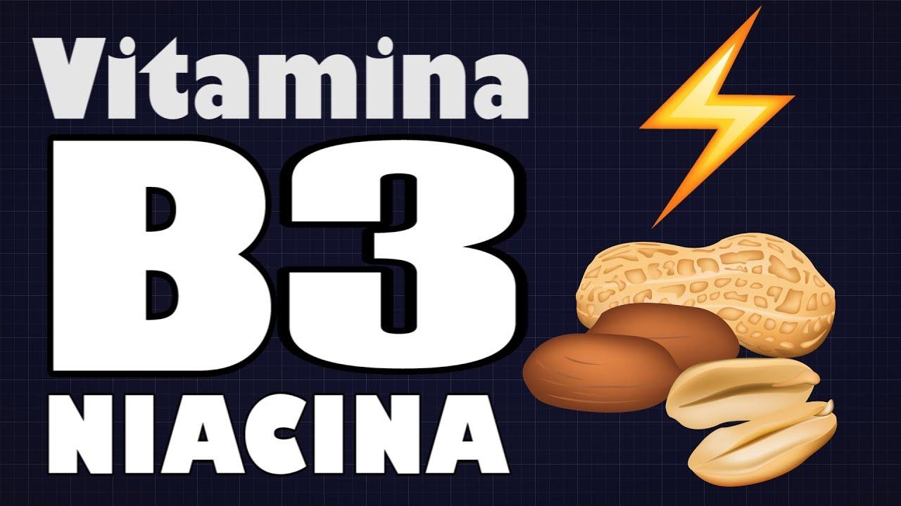 que funcion tiene la vitamina b3 en el cuerpo humano