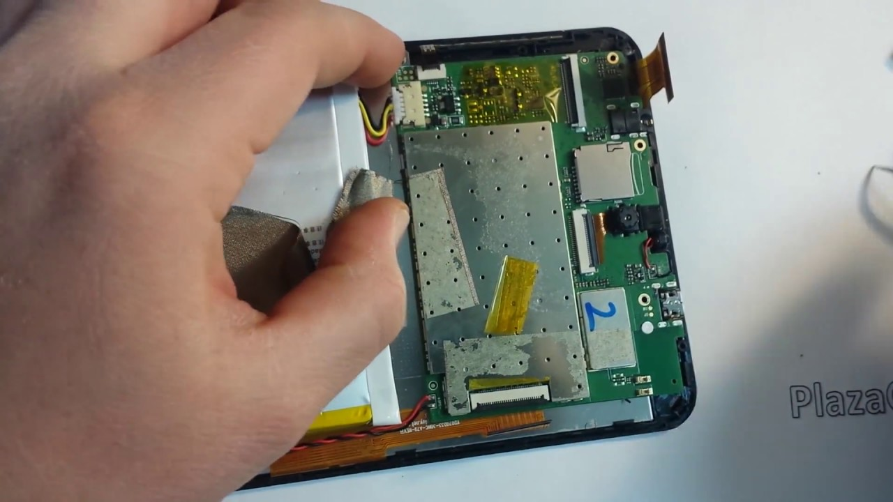 Acer Iconia One 7 B1-770 Disassembly Charging Port
