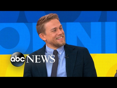 Charlie Hunnam discusses his role in 'King Arthur: Legend of the Sword'