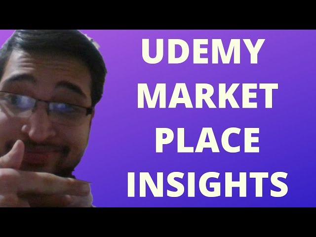 How to Optimize Udemy's Marketplace Insights Tool