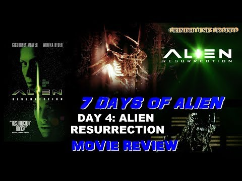 7 Days of Alien: Day 4 - Alien Resurrection (1997)