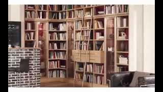Library Ladders | High Quality German Rolling Library Ladders For Your Home Library