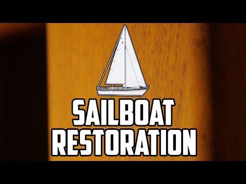 Sail Life - Compact laminate, painting, varnishing, aft cabin plans - DIY sailboat refit