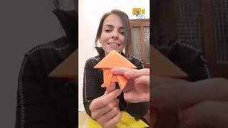 How to make an origami frog | STEAM al Arabiya |