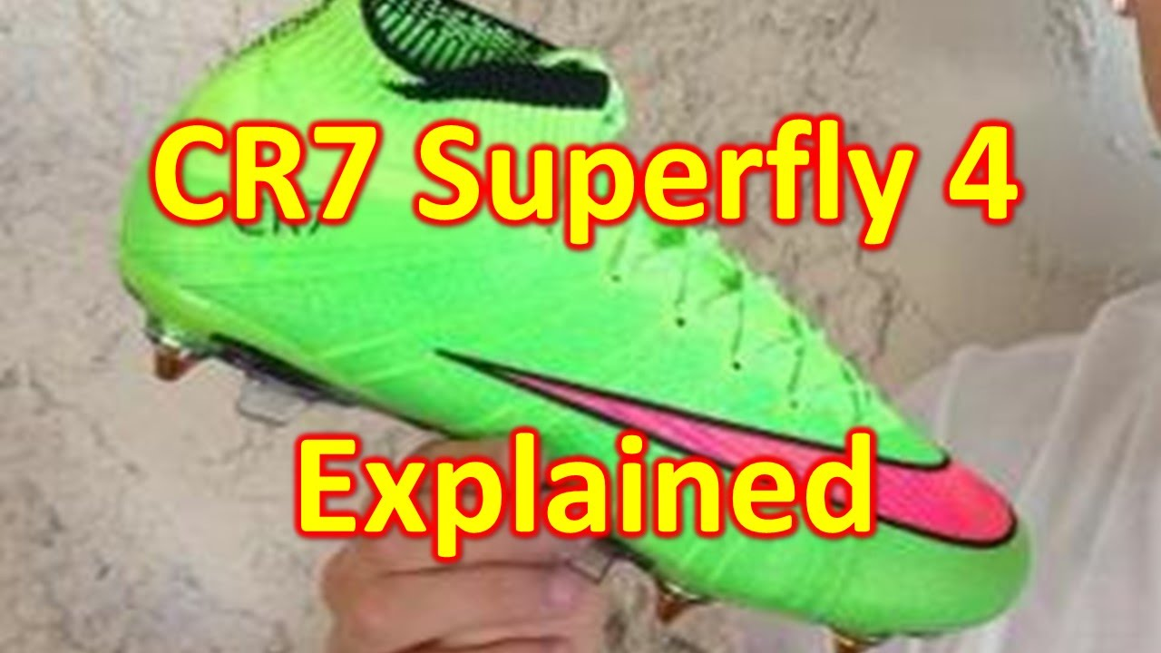 f482871db4b1 Cristiano Ronaldo's Low Cut Superfly 4 - What You Should Know - YouTube