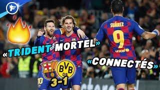 VIDEO: Le FC Barcelone s'enflamme pour son trio Messi-Suarez-Griezmann | Revue de presse