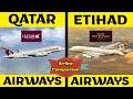 Qatar Airways VS Etihad Airways | Airlines Comparison | Placify 2020
