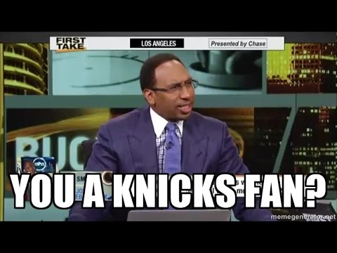 Stephen A Smith Best Rants on the Knicks (Compilation)