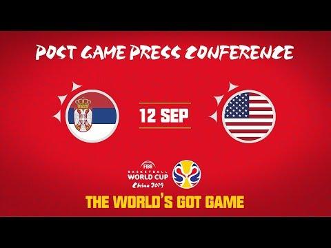 Serbia v USA - Press Conference