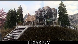 Skyrim SE Mods: TeXarium a Dwemer Based Player Home