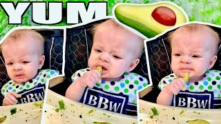 BABY'S FIRST SOLIDS - Baby Led Weaning!