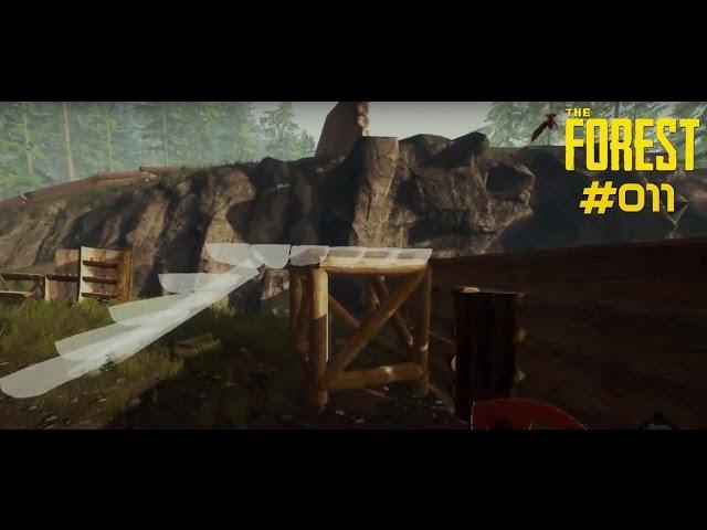 Let's Play The Forest | Wir brauchen Verteidigungs-Plattformen | Folge #011