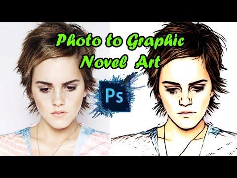 Photo to Graphic Novel Art Photoshop Tutorial