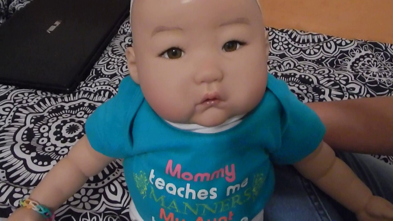 Requested Video Changing Reborn Baby Doll Mei Into Special Onsie ...