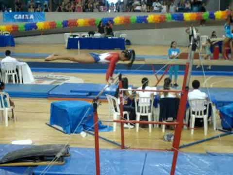 ginastica artistica barras assimetricas 1º lugar torneio nacional