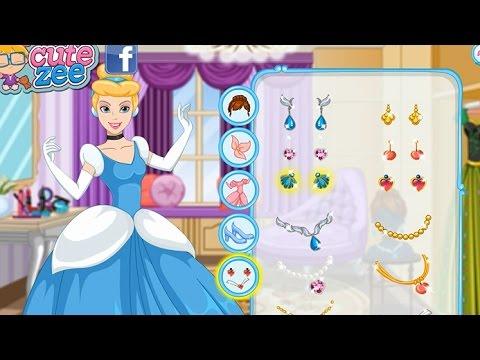 NEW Игры для детей 2015—Disney Принцесса Золушка—Мультик Онлайн Видео Игры Для Девочек