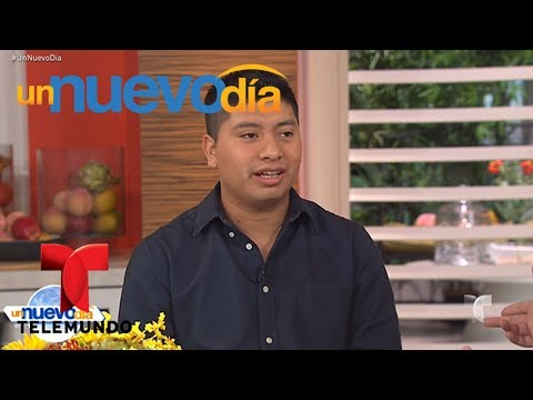 Manuel, nos cuenta cómo ha sido su experiencia en MasterChef Latino | Un Nuevo Día | Telemundo