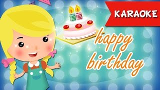 Happy Birthday karaoke song with lyrics | Friend Style | Nursery Rhymes for Kids | Ultra HD 4K Video