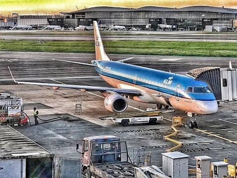 KLM Cityhopper | Embraer E190 | LHR-AMS | Economy