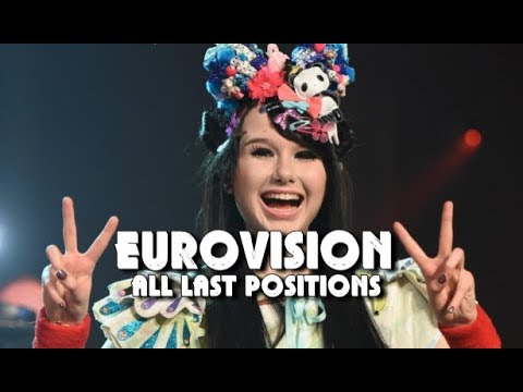 Eurovision All Last Positions (1957 - 2018)