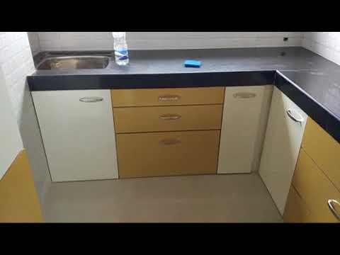 Simple Low Cost Modular Kitchen In Very Small Space Within 1 Lakh