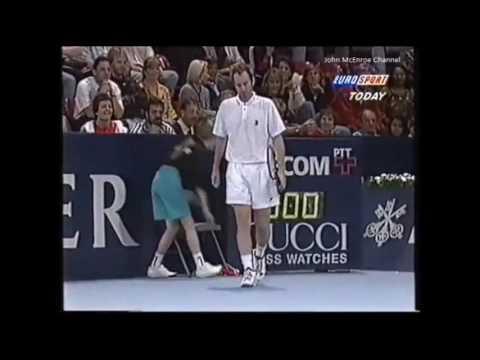 Jimmy Connors  vs McEnroe Final - Basel 1995 Highlights
