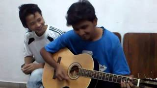 Bekarar paathshala with frnds... bekar actully. chords tutorial.tabs cover