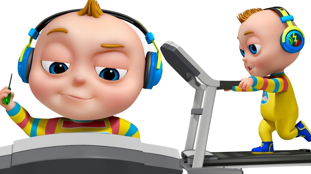 Tootoo boy treadmill episode funny cartoon animation - Cartoon boy wallpaper ...
