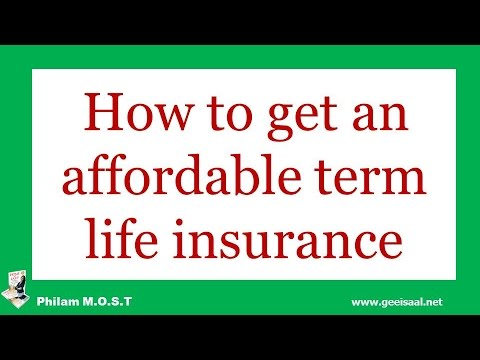 How to get an affordable and cheap insurance