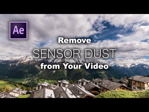 How to Remove Sensor Dust with Content-Aware Fill