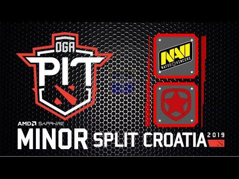 Navi vs Gambit / Bo3 / OGA Dota PIT Minor 2019 China Qualifier / Dota 2 Live thumbnail