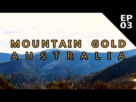 Mountain Gold Australia - Episode 3 - A Golden Line - Aussie Bloke Prospector